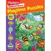 Highlights Sticker Hidden Pictures(R) Playtime Puzzles by Highlights for Children