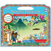 eeBoo Volcano Island Magnetic Playboard Make Me a Story
