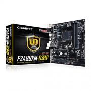 Gigabyte GA-F2A88XM-FM2 D3HP AMD A88 x, DDR3, SATA III 6GB/s-Scheda madre Micro ATX, colore: nero