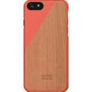 Skin Native Union Luxury Clic Apple iPhone 6 Lemn de cires Coral