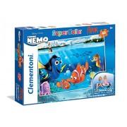 Clementoni 25450 - Puzzle Finding Nemo, 40 Pezzi Floor, Multicolore