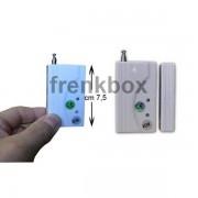 Sensore rilevatore magnetico porta e finestra antenna esterna 433 Mhz