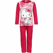 Hello Kitty pyjama roze