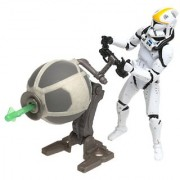 Clone Trooper Republic Gunship Pilot Star Wars Attack of the Clones 3.75 Action Figure