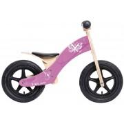 """Rebel Kidz Wood Air Lernlaufrad 12"""" Schmetterling pink Kinderfahrräder"""