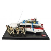 Hot Wheels Elite Ghostbusters Ecto-1 30th Anniversary Edition with Figures (1:18 Scale) by Hot Wheels