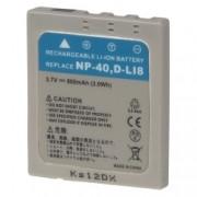 Power3000 PL40L.532 - acumulator tip D-LI8 pentru Pentax, 800mAh
