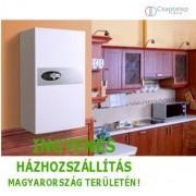 KOSPEL EKCO.LN2 - 12 kW-os elektromos kazán radiátoros fűtési rendszerekhez, 400V-os hálózatra.