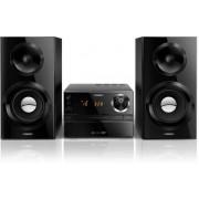 Micro sistem audio Philips MCM2350, CD/MP3 Player (Negru)