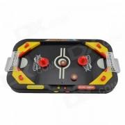 Mini 2 en 1 mesa de hockey sobre hielo y futbol de la tableta del juego