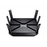TP-LINK AC3200 Tri-band (2.4 GHz / 5 GHz / 5 GHz) Gigabit Ethernet Black wireless router