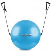 Гимнастическа топка с дръжки inSPORTline 55cm