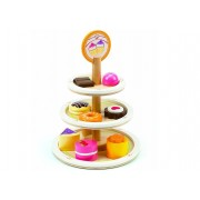 10 Piece Wooden Dessert Tower by Hape