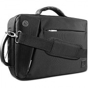 VanGoddy Premium Multiple Design Laptop Bag Briefcase Backpack for Apple Mackbook / MacBook Air / Pro / Dell XPS / ASUS ROG Series 12.2 13.3 14 15.6 inch OS X / Windows Chromebook Ink