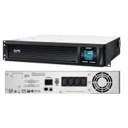 UPS APC Smart-UPS C line-interactive / sinusoidala 1000VA / 600W 4 conectori C13 rackabil 2U, APC SMC1000I-2U (APC)
