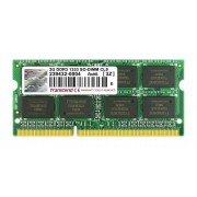 Transcend Memoria da 2GB JM DDR3, 1333 SO-DIMM, 2Rx8, Nero/Antracite