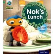 Project X: Alien Adventures: Green: Nok's Lunch by Jan Burchett