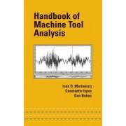 Handbook of Machine Tool Analysis by Ioan D. Marinescu