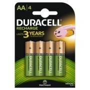 Acumulatori Duracell AAK4 1300mAh 4buc Verde