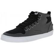 DVS APPAREL Elm - Zapatillas de skateboarding de canvas para hombre gris Gris (Gry/Blk)