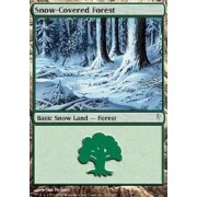 Magic: the Gathering - Snow-Covered Forest - Coldsnap by Magic: the Gathering