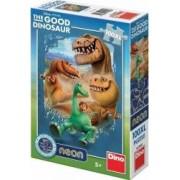 Puzzle NEON - Dinozauri 100 piese XL