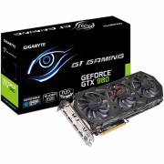 Gigabyte NVIDIA GEFORCE GTX 980 G1 GAMING, WINDFORCE 3X, 4096MB, GDDR5, 256bit, HDMI, DVI, 3x Display Port