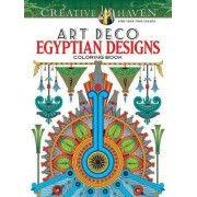 Creative Haven Art Deco Egyptian Designs Coloring Book by Dover