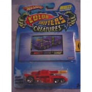 Hot Wheels Color Shifters Creatures INVADER - Colors Vary