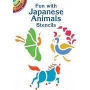 Fun with Japanese Animals Stencils by Ellen Harper