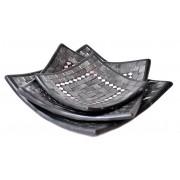 Zestaw ceramicznych mis 3szt Indonezja