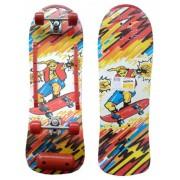 Skate Radical Iniciante Mega Boy Skateboard Shape 76x24 Bel Sports - 401900
