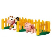 Tolo C89996 - First Friends Farm Animals Pigle and Cow Set - Primi Amici, l'Aia, la Mucca e il Maiale