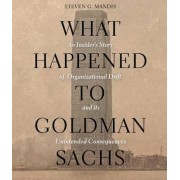 What Happened to Goldman Sachs by Steven G Mandis