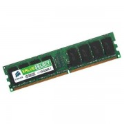 Ram Barrette Mémoire CORSAIR ValueSelect 1Go DDR2 PC2-4200 VS1GB533D2 Unbuffered