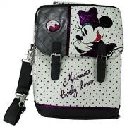 Disney Minnie Bandolera Mochila por Niña Chica Escuela Viaje Tablet Pc