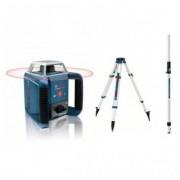 BOSCH Pack Laser Rotatif Bosch Grl400h + Trépied + Mire Gr 240