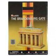 AsianHobbyCrafts 3D Puzzle World's Greatest Architecture Series :Brandenburg Gate : Model Size – 18cm x 20cm x 8cm