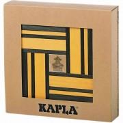 Kapla 40 pz Set Costruzioni in Legno Verde e Giallo KAPL172105