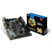 Msi AM1I M.ATX S.AM1 Athlon/Sempron Scheda Madre, Nero/Antracite