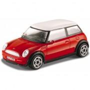 Schaalmodel Mini Cooper rood 1:43