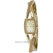 DKNY Quartz Gold Oval Women Watch NY4636 DKNY