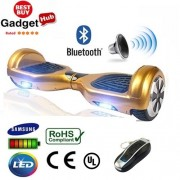 "6.5"" Gold Bluetooth Segway Hoverboard"