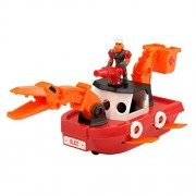 Educational Insights Dino Construction Company Rescue Crew Blaze The Plesiosaurus Fire Boat Toy