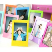 CAIUL 5 Different Colorful Film Decor Borders for Fuji 3inch Instax Mini 8 90 50s 25 Film