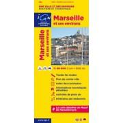 Wegenkaart - landkaart - Fietskaart Marseille en omgeving | IGN
