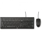 HP C2500 Wired Combo keyboard and Mouse (Black)