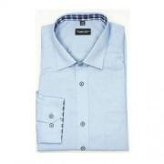 ThomasWaxx Koszula w kolorze niebieskim z koordynacją w kratę.