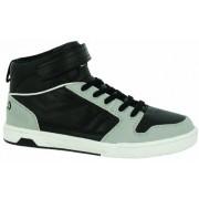 Umbro Salford Mid Vc Child - Zapatillas de tenis de material sintético para niño negro Noir (242 Noir/Gris Clair/Blanc)