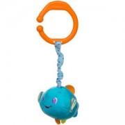 Вибрираща играчка за кошарка и количка Рибка - 1392 Babyono, 9070204